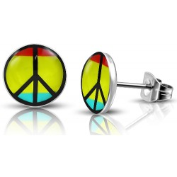 Kinder Ohrstecker Peace