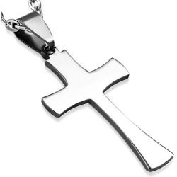 Edelstahl Kettenanhänger Kreuz