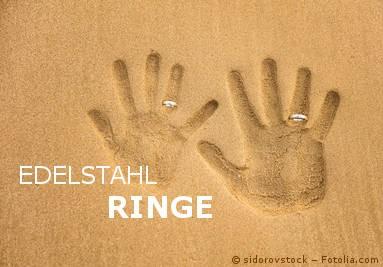 Edelstahl Ringe